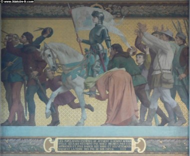 histoire de france, jeanne d'arc, domrémy, charles VII, Henri V d'angleterre, chinon, sacre, légitimité, lorraine, pucelle d'orléans