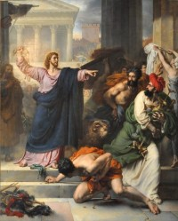 Le Christ chasse les marchands du temple