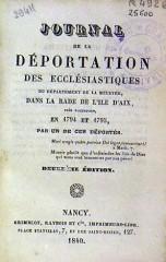 journal de l'abbé michel