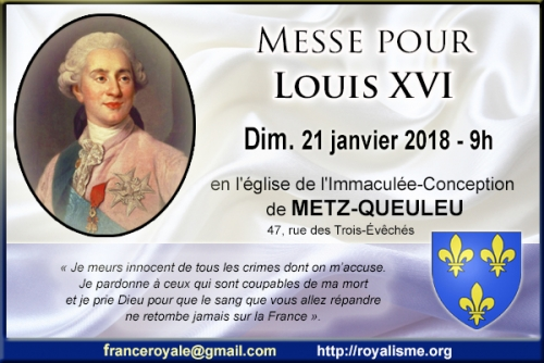 messe louis vxi messe royalisme
